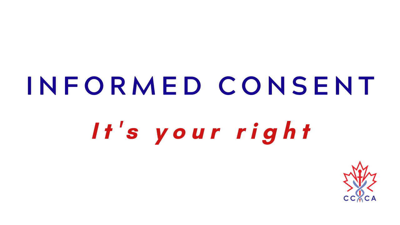 Informed Consent: It's your right